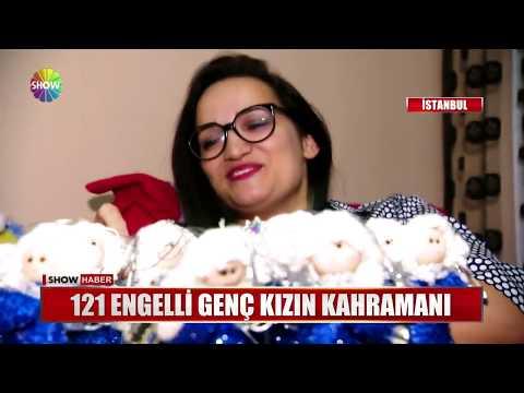 121 engelli genç kızın kahramanı