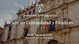 Graduación del Grado en Contabilidad y Finanzas · 06/04/2018