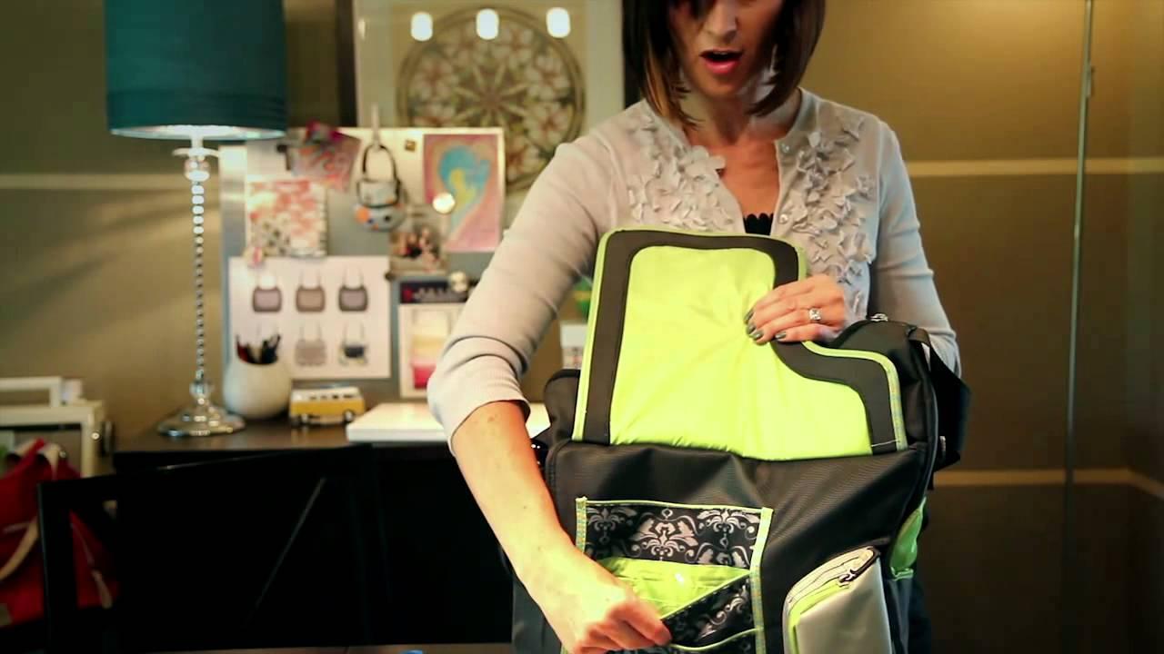 jj cole design hour 2011 2012 diaper bags youtube. Black Bedroom Furniture Sets. Home Design Ideas