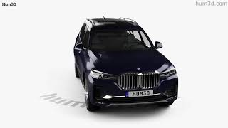 BMW X7 (G07) 2019 3D model by Hum3D.com