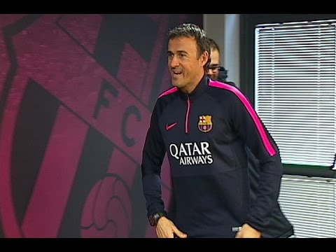 Luis Enrique espera pasar la eliminatoria contra el City