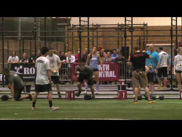 QCCF Awesome & Unrated Heat 3 - CrossFit Games North Central Regional 2012