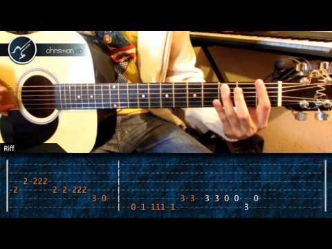 Como tocar Jinetes en el Cielo en Guitarra Acustica (HD) Tutorial