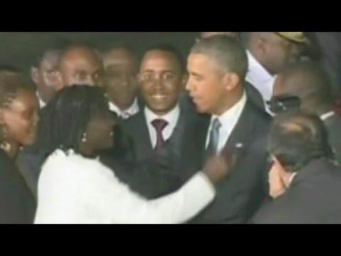 Pres. Obama makes first visit to Kenya as president