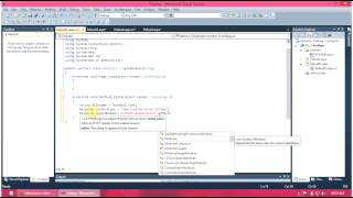 ASP.NET C# Tutorial : File Downloading and saving using asp.net and c#