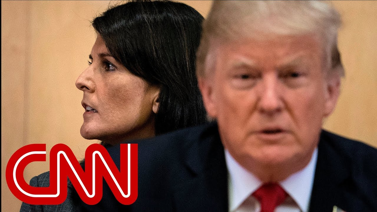 Trump says he has five people on shortlist to replace Nikki Haley