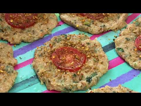 """Chicken Chapli Kabab"" Make and Freeze Ramadan Recipes"