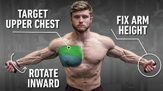 The Best Way To Isolate The Chest For Growth (Upper Chest Focus)
