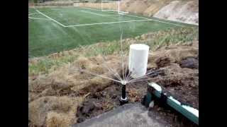 Sistema de riego con MP Rotator de Hunter 2.