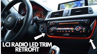 BMW F30 LCI Radio Trim Upgrade! (EASY)