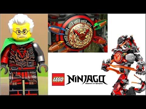 LEGO Ninjago 70626 Железные удары судьбы Обзор + все клинки времени