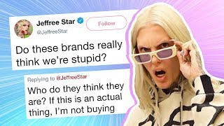 Jeffree Star Exposes Makeup Brand on Twitter, People Are Now Cancelling Them