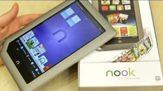 New B&N Nook Tablet_ Unboxing, Tour & Demo