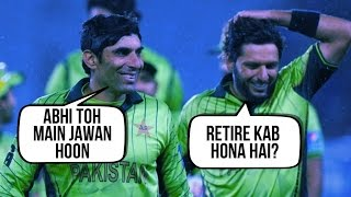 Shahid Afridi calls Misbah-ul-Haq to congratulate him after his century