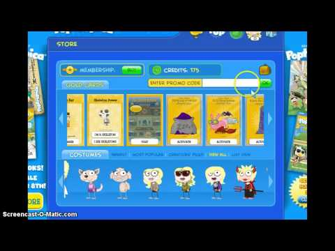 how to get free stuff on a poptropica game !
