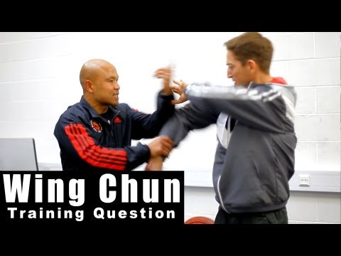 wing chun techniques -  How to use lap sao. Q19 Image 1