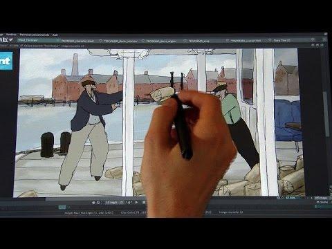 تقنية لتحديث أفلام الرسوم المتحركة القديمة – futuris