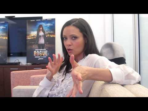 "Thandie Newton talks DirectTV's ""Rogue"""