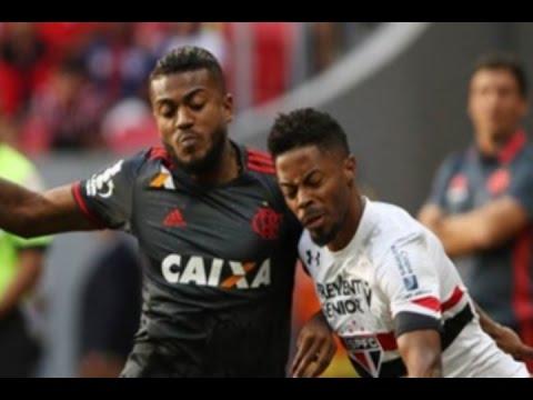 Flamengo 2 x 2 São Paulo, Melhores Momentos - Série A 19/06/2016