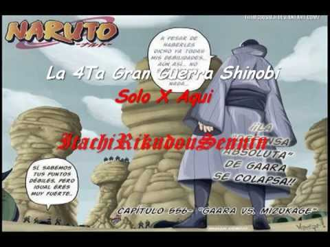 Naruto Manga 556 Espaol Color [HD] '' Gaara VS Mizukage ''