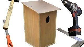Vogelschutz !  Hier Anleitung Nistkästen bauen