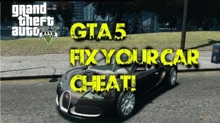 OFFICIAL CAR FIX CHEAT - GTA 5 - (No character switching) PC|Ps4|XboxOne|Xbox360|Ps3