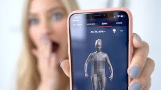 Naked 3D Body Scanner!