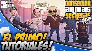 GTA 5 ONLINE - CONSEGUIR ARMAS SECRETAS