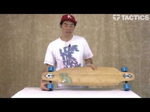 Sector 9 Punta Lobos Bamboo 41 Inch Drop Through Longboard Review - Tactics.com
