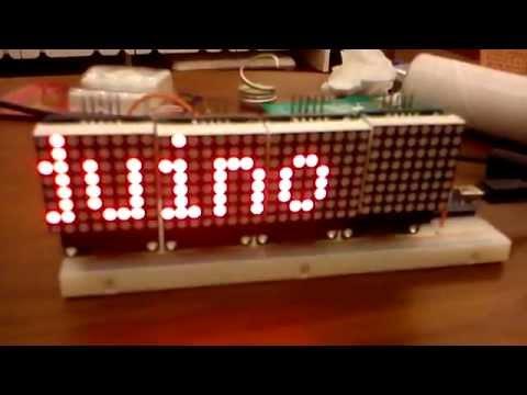 Arduino + MAX7219
