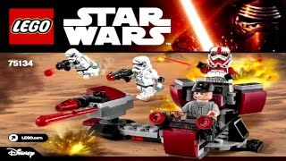 LEGO Star Wars 75134: Galactic Empire 2016 Battle Pack (Instruction Booklet)