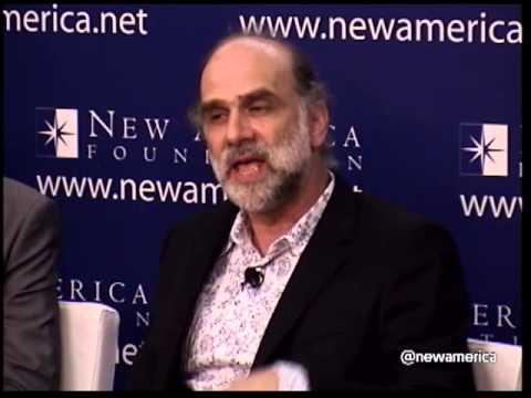 "Bruce Schneier; ""Security Guru"" How NSA Spying Undermines the Economy"