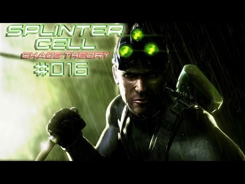 Let's Play Splinter Cell - Chaos Theory #016 [Deutsch][HD+] - Knappe Kiste