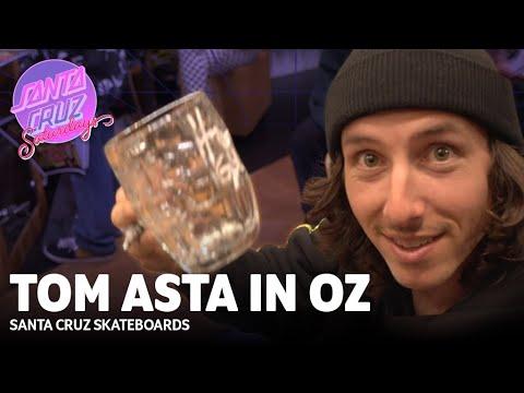 Lord of the Ledge! Tom Asta in Australia | Santa Cruz Saturdays