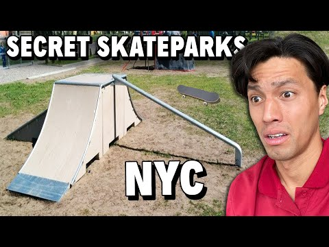 5 NYC Skateparks You Will NOT Find On Google