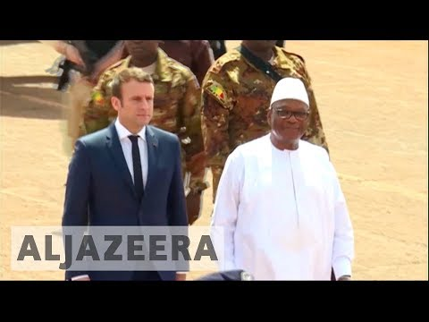 France's Macron visits Mali to boost new regional security force
