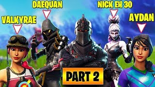 STREAMERS 1V1 IN PUBLIC LOBBY! *ALL REACTIONS* PART 2