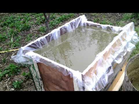 Ёмкость для воды на дачу из подручных материалов