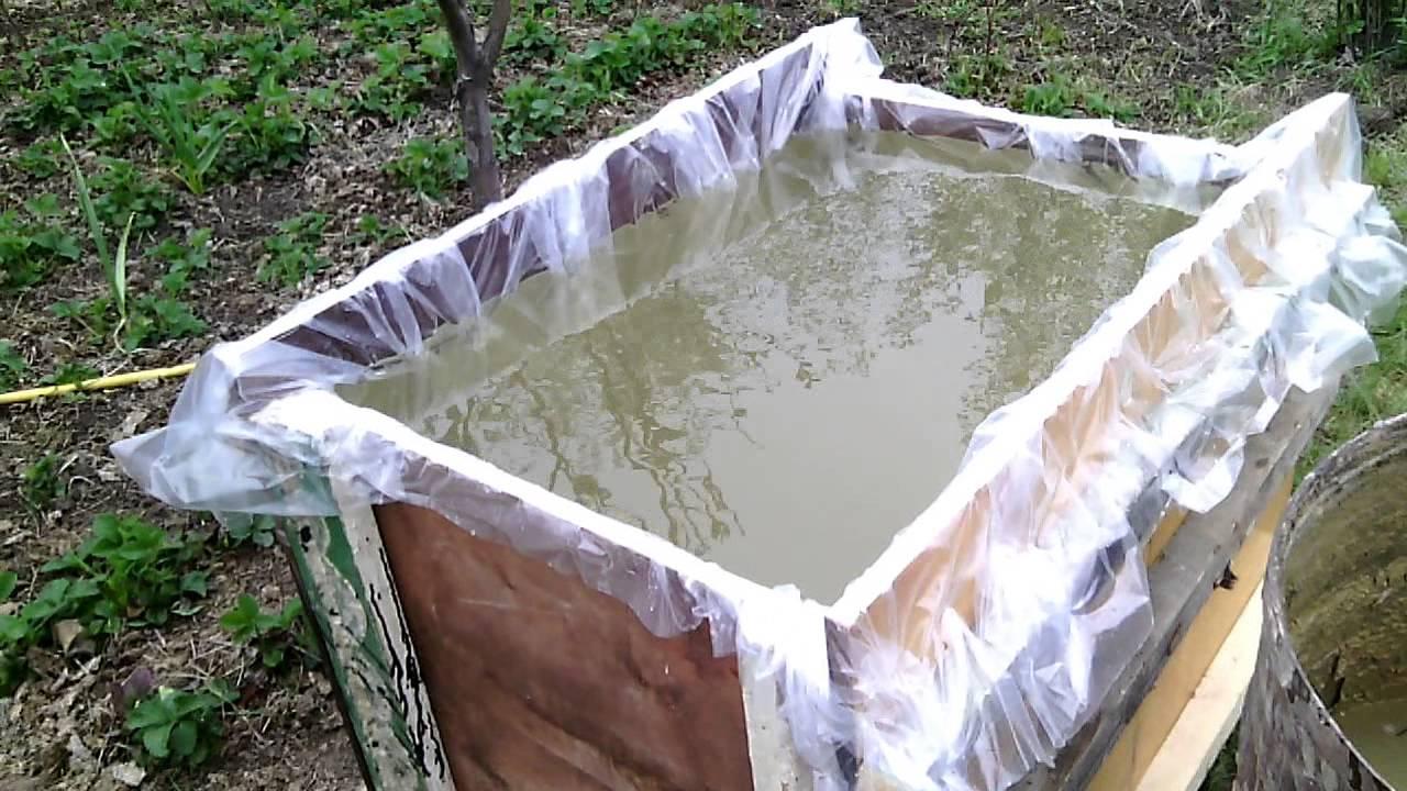 Как сделать ёмкость для воды 390