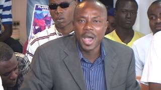 VIDEO: Haiti - Senate Jean Charles Moise eneve... FOK Martelly ale...