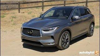 2019 Infiniti QX50 vs 2019 Acura RDX Luxury Crossover SUV Overview Video