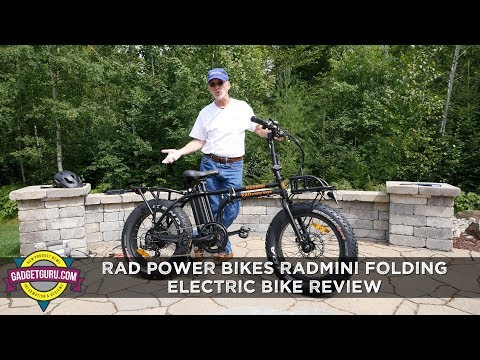 Rad Power Bikes RadMini Folding Fat Tire Bike Full Review