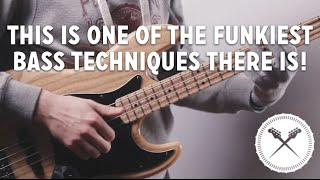 This is One of The Funkiest Bass Techniques There Is! (L#113)