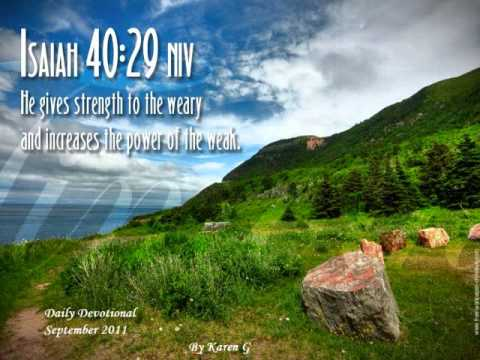 Daily Devotional Sep 11 2011, The Worst Home Remedy in Palestine.wmv