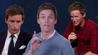 Eddie Redmayne Funny Moments 2016