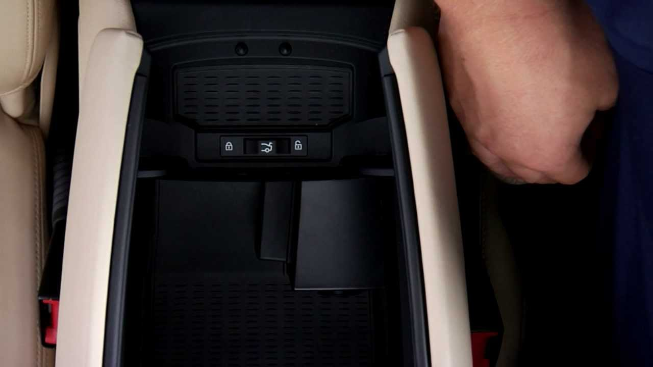 Bmw Valet Parking Center Armrest Trunk Lock Youtube