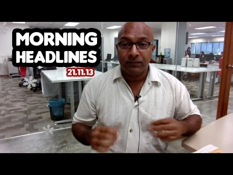 Incest And Euphemism [morning Headlines 21.11.13] video