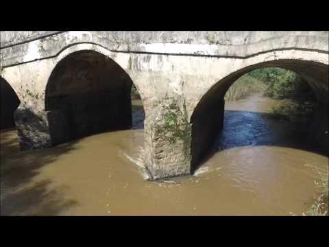 Ponte de Pedra Rio Botucaraí Cachoeira do Sul RS