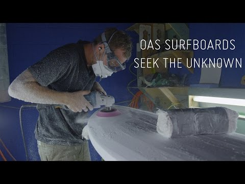 FLYING STRANGERS X OAS SURFBOARDS: SEEK THE UNKNOWN