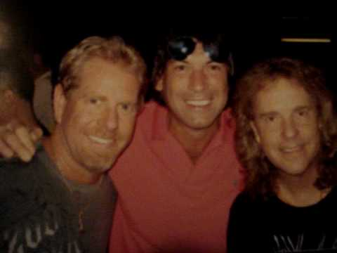 Marty Rockin with Jack Blades&Brad Gillis of Night Ranger.